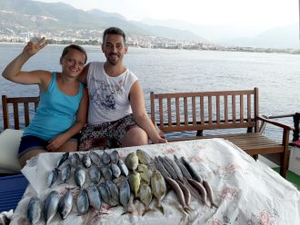 fishing in alanya